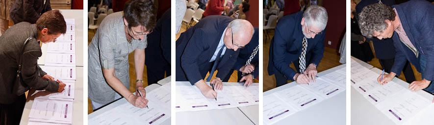 signature du contrat de rivière du Buëch