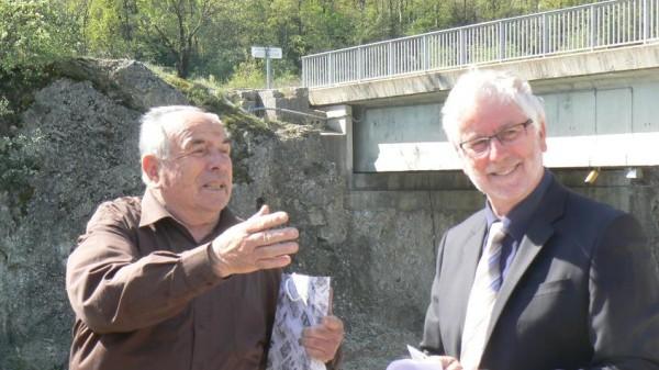 Photo: M. TRUPHEME (à gauche) et M. BOIVIN (à droite)