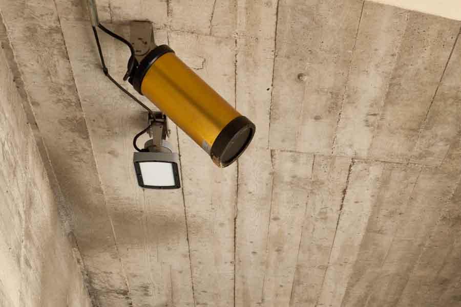 radar de la station de mesure du débit de la Faurie