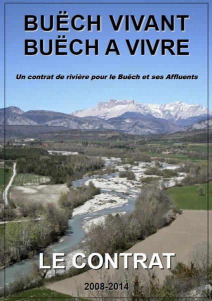couverture du mémoire du contrat de rivière du Buëch