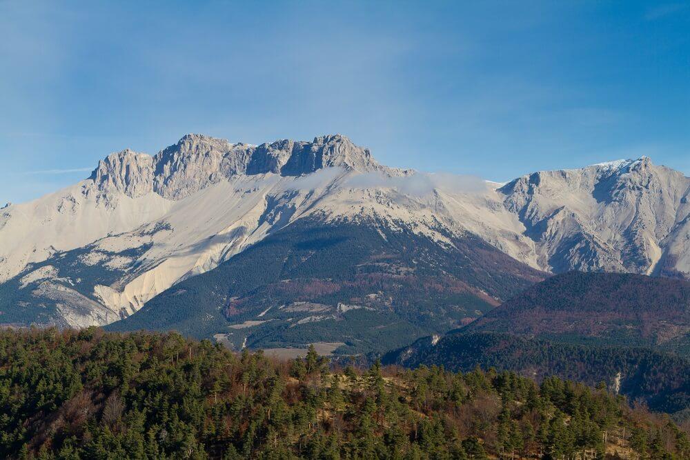 vue sur le massif du Dévoluy